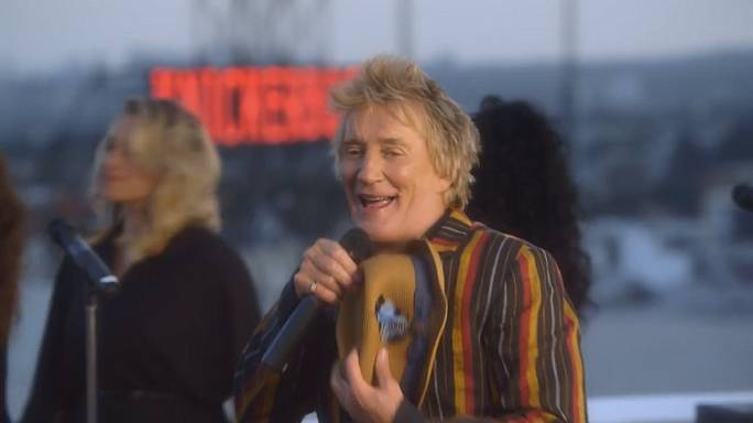 At 70, Rod Stewart still going strong with new album