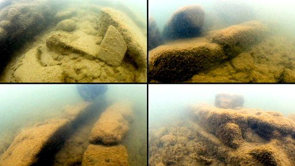 Turkey's hidden basilica: Underwater and under wraps but not for much longer