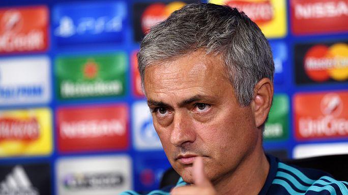Mourinho on the ropes ahead of Dynamo Kiev game