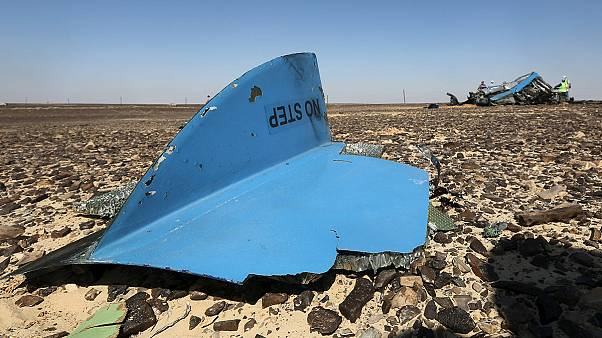 Las cajas negras del avión ruso siniestrado en el Sinaí revelan ruidos que los expertos no saben identificar