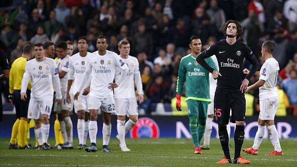 Le PSG s'incline, le Real Madrid et Manchester City se qualifient