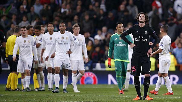 El Madrid y el Manchester City se clasifican para los octavos de final de la Champions
