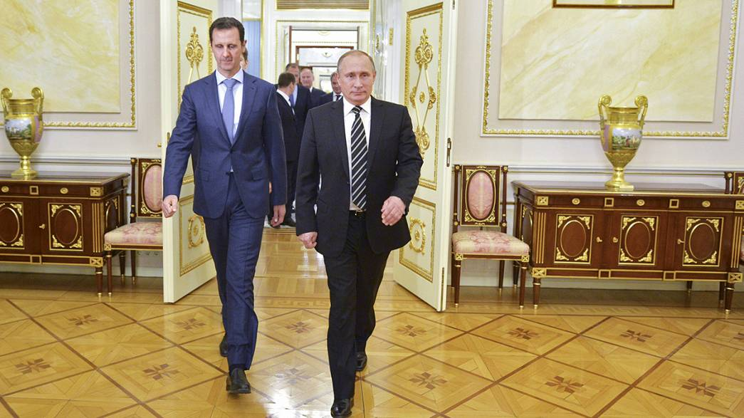 Russia says it's not crucial that President Assad stays in power