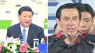 Erstmals seit 1949: Treffen der Präsidenten Chinas und Taiwans