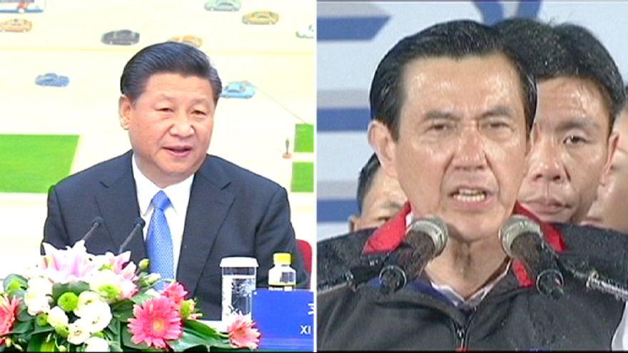 روسای جمهوری چین و تایوان بعد از ۶۶ سال با هم دیدار می کنند