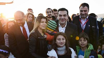 Grécia: Começou a distribuição de refugiados pelos países da UE