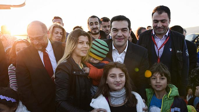 Grèce : un premier groupe de réfugiés relocalisé dans un autre pays européen