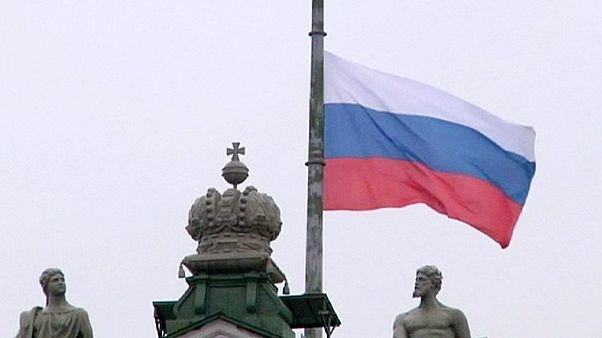 Rusia, de luto por la catástrofe aérea del sábado en Egipto