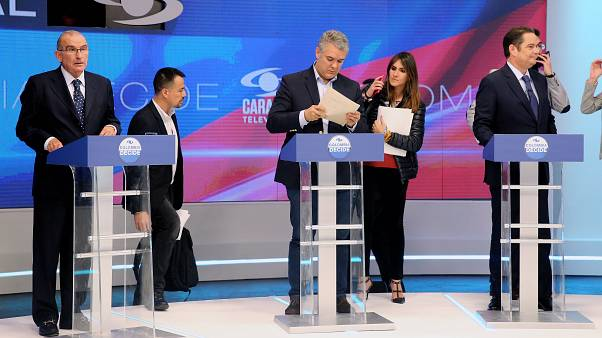Image: Colombia's last Presidential candidate debate before the elections