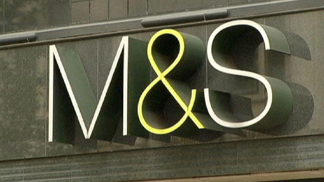 Lucros da M&S em queda