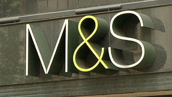 Сеть Marks & Spencer зафиксировала падение прибыли