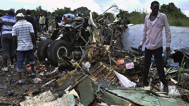 أزيد من 40 قتيلا في حادث تحطم طائرة شحن في جنوب السودان