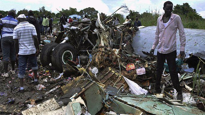 Sudão do Sul: Sobrecarga poderá explicar queda de avião perto de Juba