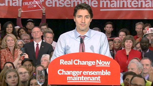 """""""Wir sind zurück"""": Das hat Kanadas neuer Premier Justin Trudeau versprochen"""