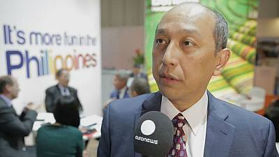 World Travel Market 2015 interview – Domingo Ramon C. Enerio III, Philippines