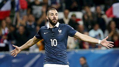 Karim Benzema ouvido em caso de extorsão a Mathieu Valbuena