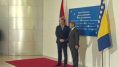 Encuentro histórico entre Serbia y Bosnia-Herzegovina