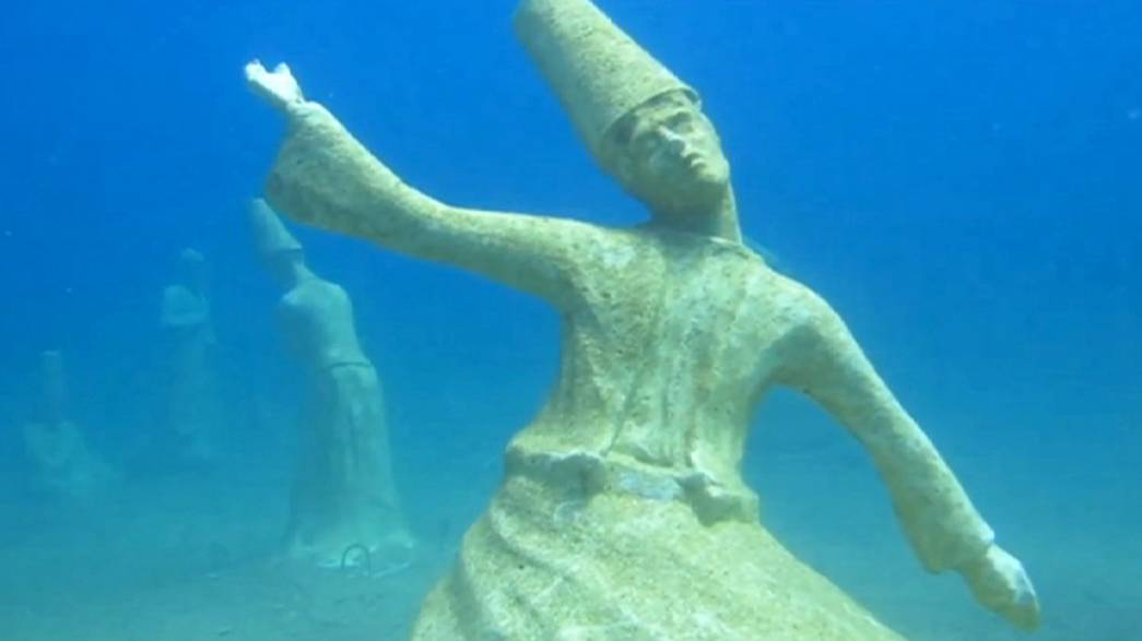 Turchia: a spasso tra sculture sotto l'acqua
