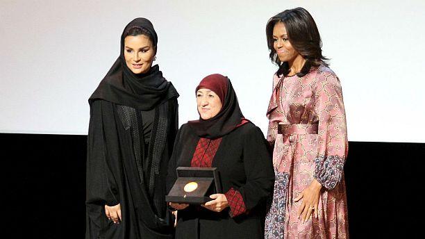 Michelle Obama ratifica su apoyo a la escolarización en la Cumbre WISE de Qatar