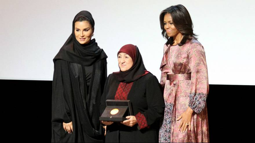 Afghan women's education pioneer wins WISE award in Doha