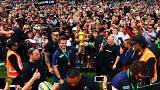 Crowds welcome home All Blacks rugby world champions at Auckland airport