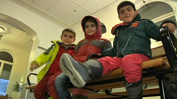Two weeks of danger end with Syrian family's arrival in Sweden