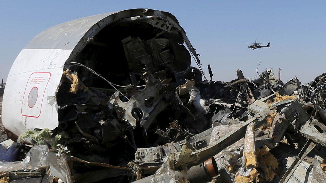 """بريطانيا:""""سقوط الطائرة الروسية في مصر قد يكون بسبب عبوة ناسفة"""""""