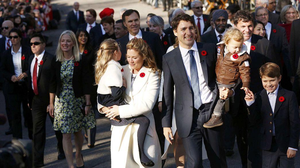 Troudeau marca desde el primer día un cambio de estilo en el Gobierno canadiense