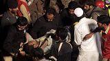 قتلى وجرحى بالعشرات في حادث انهيار مبنى في باكستان