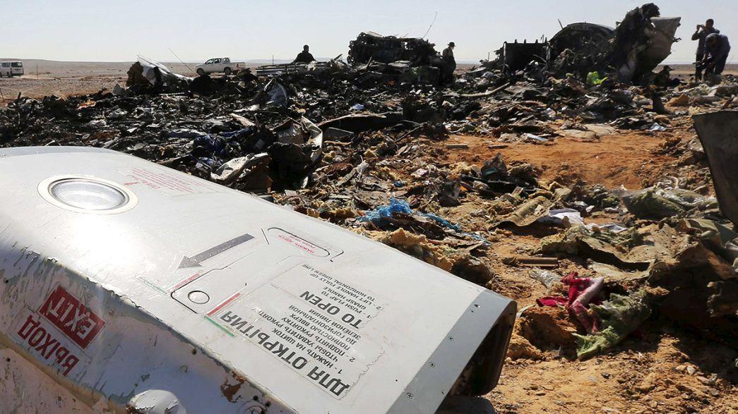 Egito: Uma bomba é a hipótese mais provavel no despenhamento do avião russo