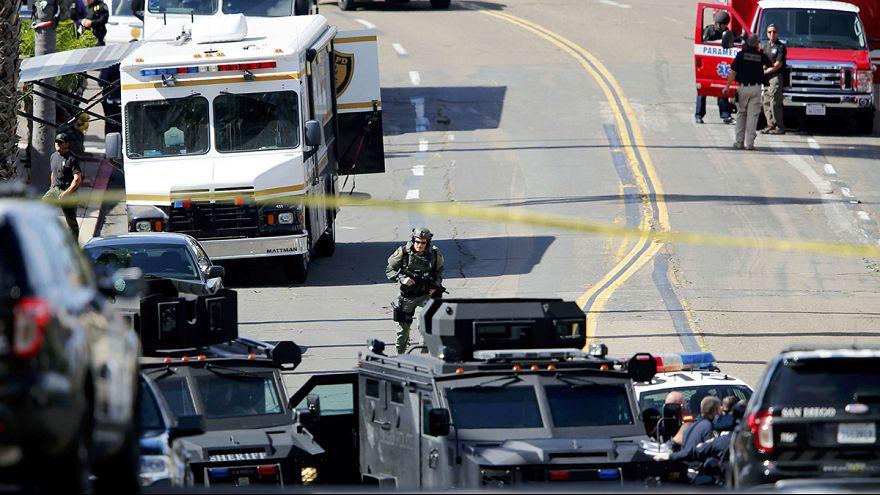 القبض على رجل مسلح هاجم الشرطة في سان دييغو