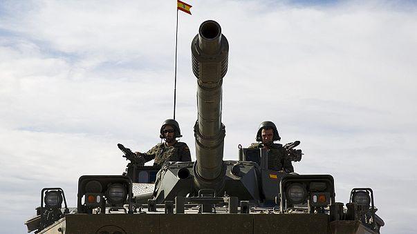 مناورات ضخمة في سرقسطة لقوات حلف شمال الأطلسي
