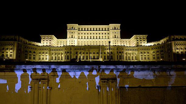 "Romania: ""CTRL ALT DEL"" protest"