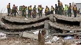 Search for survivors continues after Pakistan factory collapse