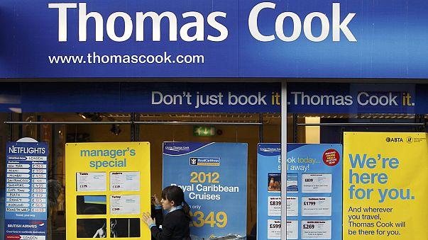 أسهم توماس كوك تتراجع عقب إلغاء بريطانيا لرحلاتها إلى شرم الشيخ