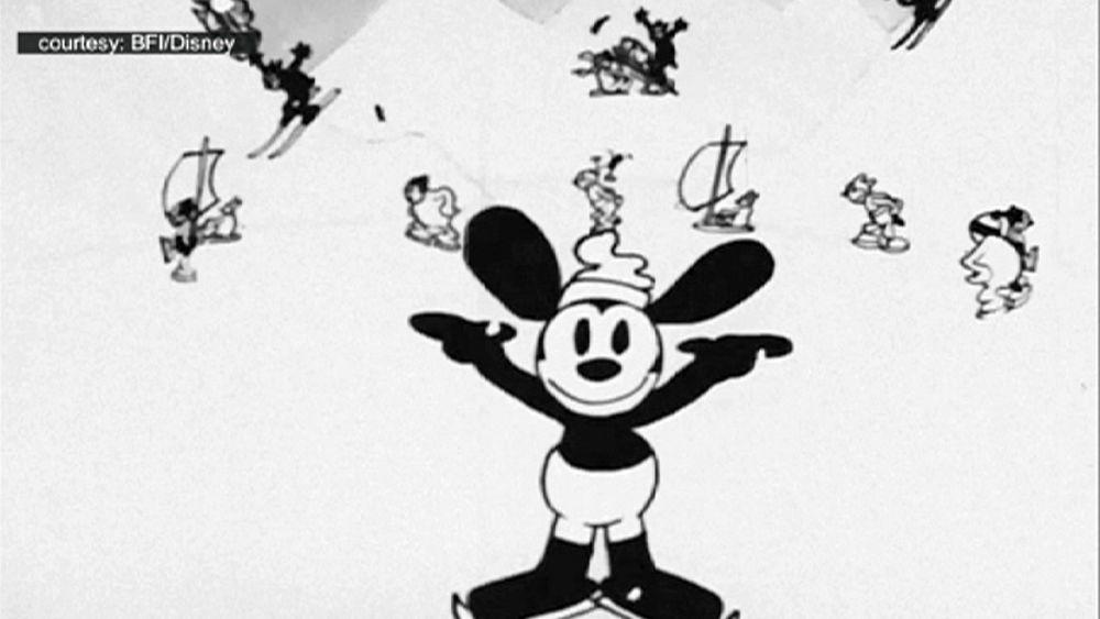 Trovato un rarissimo cartone animato di walt disney degli anni 20