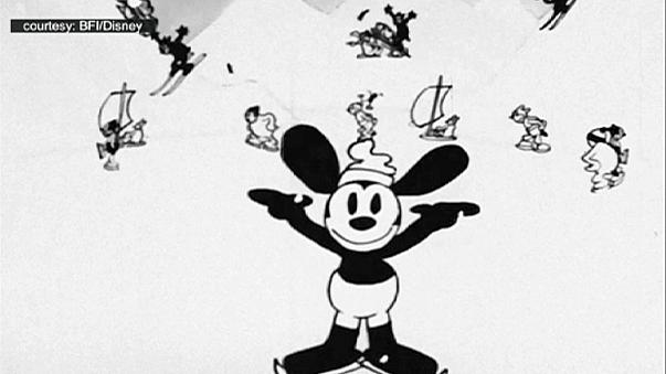 "British film archive prepares ""long lost"" Disney rabbit for Christmas"