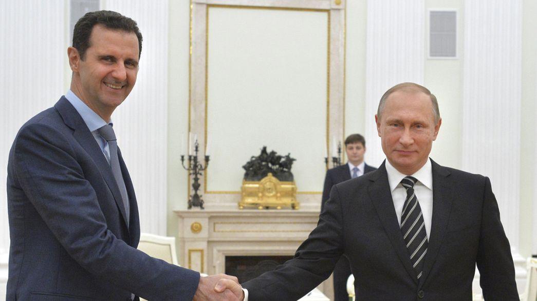 من يساند الأسد ؟