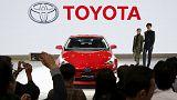 Toyota revê previsões de vendas