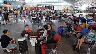 Bali'de uçak seferlerine devam