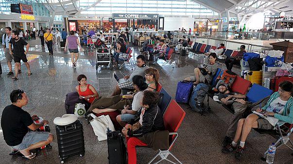 Индонезия : аэропорт Бали возобновил работу