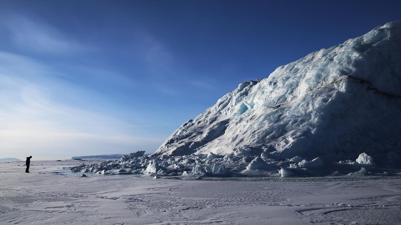Image: NASA Continues Efforts To Monitor Arctic Ice Loss With Research Flig