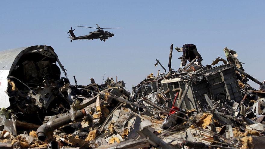 تواصل التحقيقات في حادث الطائرة الروسية وسط ترجيح بريطاني لفرضية اسقاطها  بقنبلة