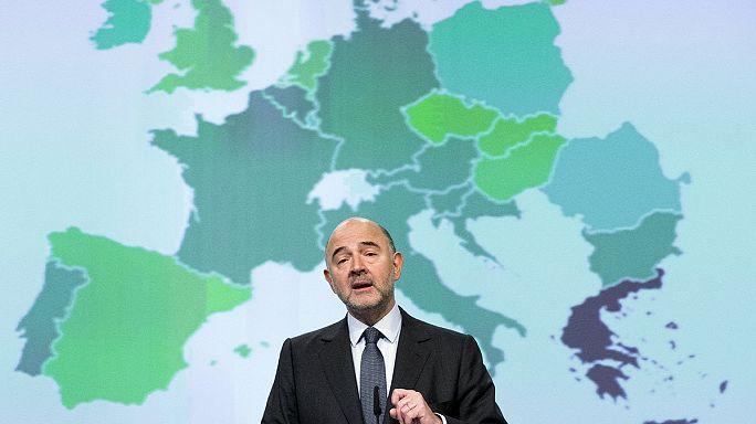 Avrupa Komisyonu: Euro Bölgesi'nde ılımlı büyüme sürecek