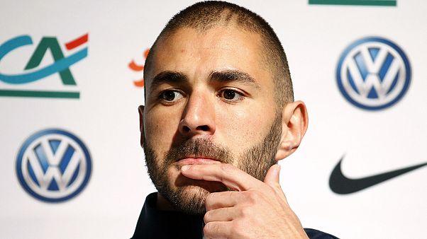 Vád alá helyezték Karim Benzemát