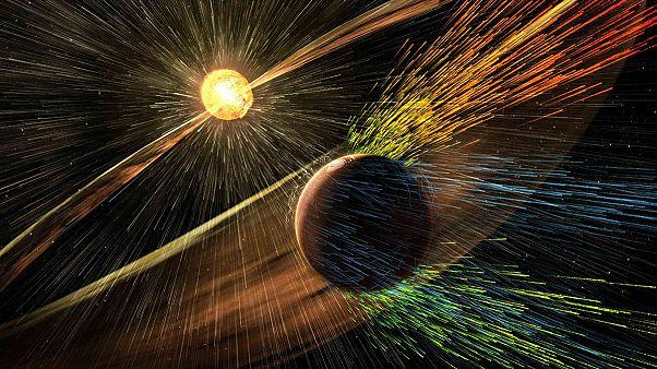 NASA: a Nap tette tönkre a Mars atmoszféráját