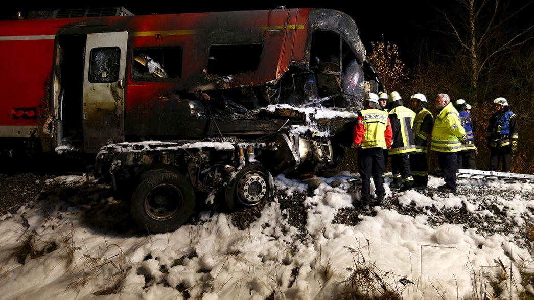 Allemagne : au moins 1 mort dans un accident à un passage à niveau