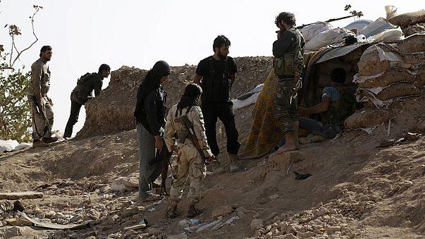 المعارضة السورية تُسيطرعلى بلدة مورك في الغرب وفرنسا ترسل حاملة الطائرات شارل ديغول إلى المنطقة