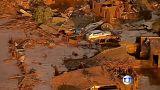 Brasil: colapso de barragens mineiras deixa cenário de devastação