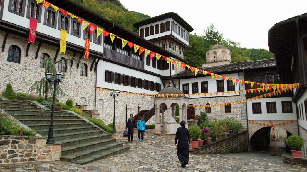 Macedón képeslapok: ősi kolostor csodatévő ikonnal